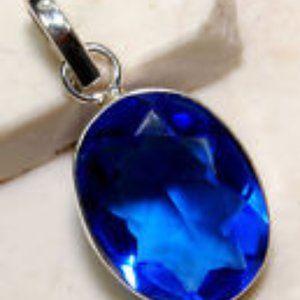 Genuine Blue Sapphire Pendant